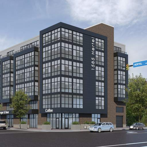 1585 Hertel Mixed Use Development